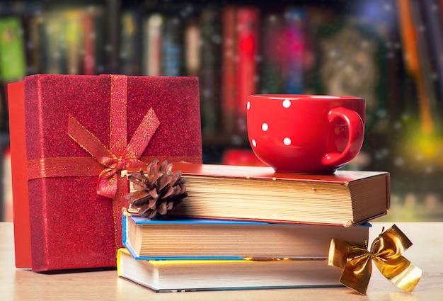 Kerst boekenplank