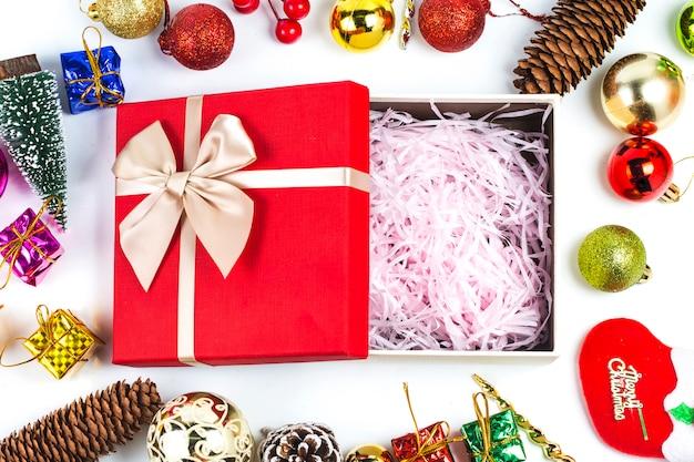 Kerst cadeau achtergrond, kerstmis