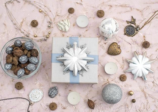 Kerst compositie decoratie