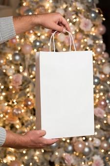 Kerst concept met kopie ruimte Gratis Foto