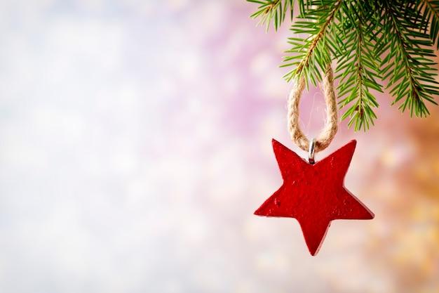 Kerst decoratie achtergrond