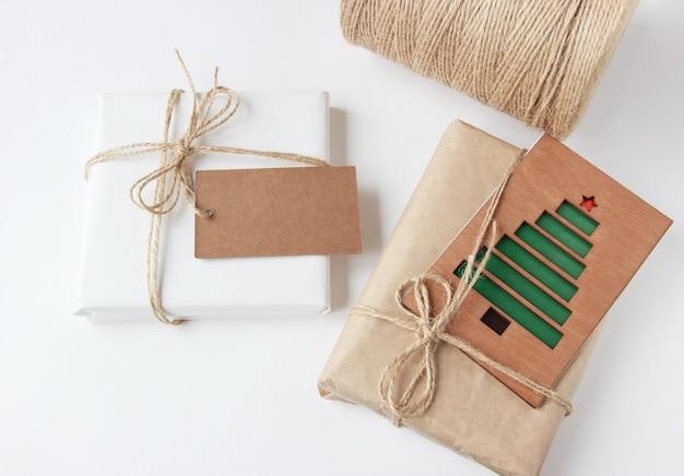 Kerst- en nieuwjaarsgeschenken inpakken zonder afval