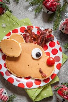 Kerst eten voor kind