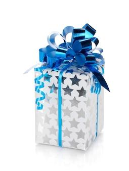 Kerst geschenkdoos. geïsoleerd op witte achtergrond