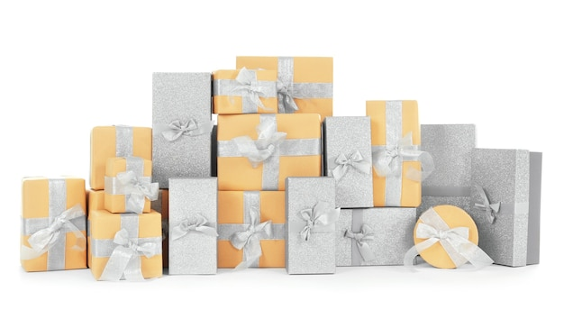 Kerst geschenkdozen Premium Foto