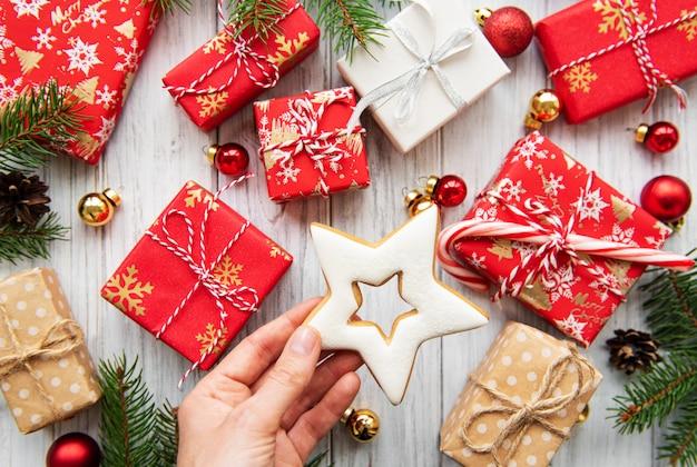Kerst geschenkdozen