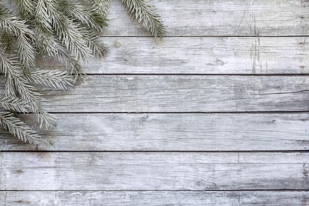 Kerst houten achtergrond