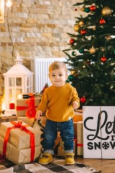 Kerst jongen