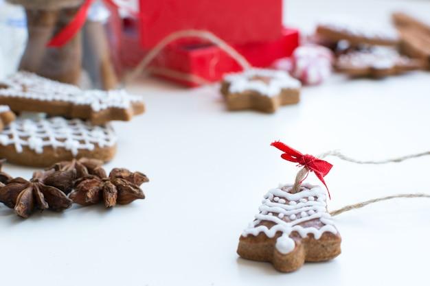 Kerst kaneel peperkoek detail