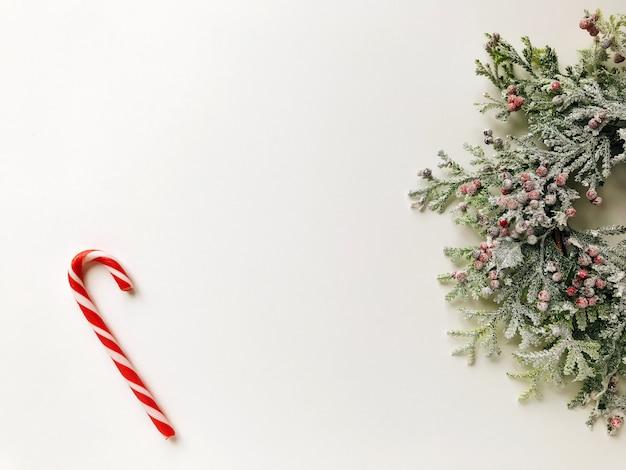 Kerst krans concept