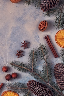 Kerst lichte stenen achtergrond