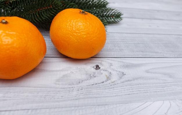 Kerst mandarijnen.