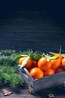 Kerst mandarijnen