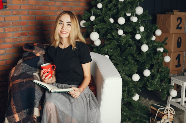Kerst meisje