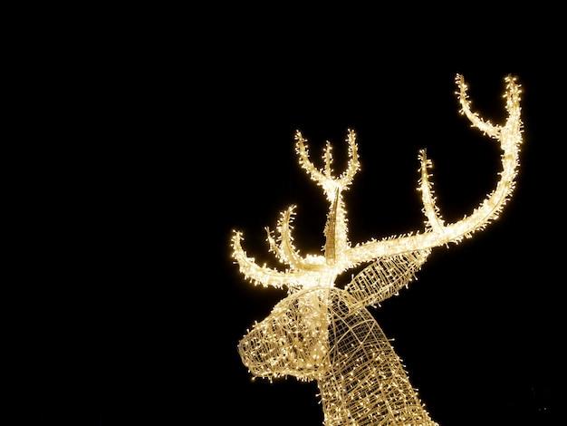 Kerst rendieren ornament.