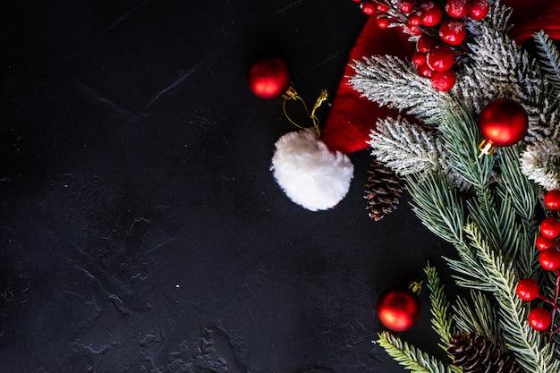 Kerst scène concept