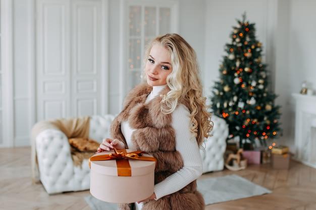 Kerst schieten concept