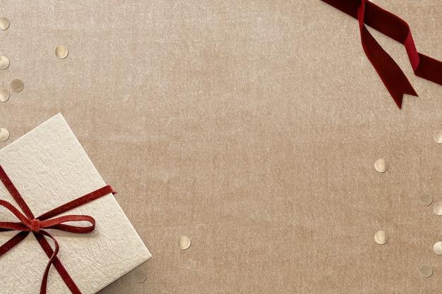 Kerst sociale media banner achtergrond met ontwerpruimte