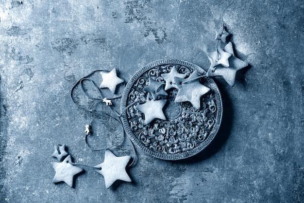 Kerst stervorm suiker koekjes