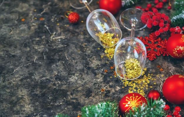 Kerst tabel instelling