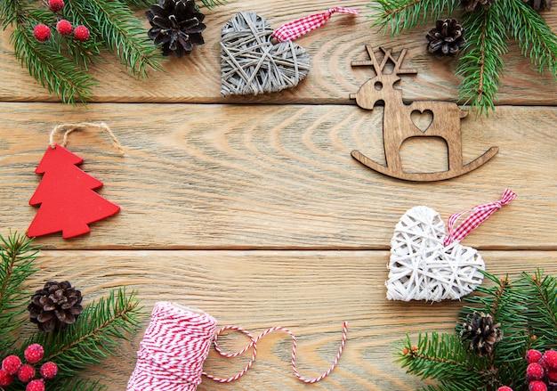 Kerst vakantie achtergrond
