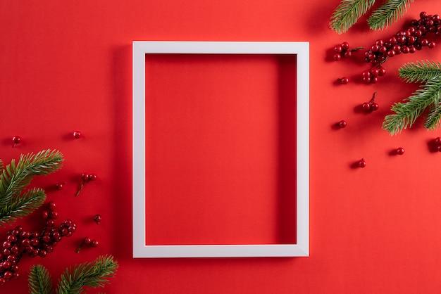 Kerst vakantie samenstelling achtergrond concept