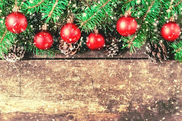 Kerst vintage achtergrond