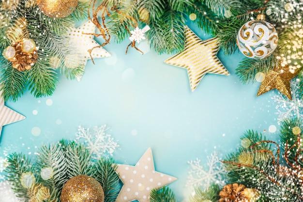 Kerst winter achtergrond
