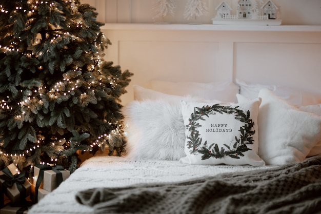 Kerst winter ornament decor kussen