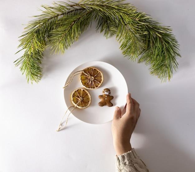 Kerst zakelijke samenstelling geschenken zwarte en gouden decoraties
