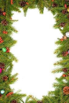 Kerstavond achtergrond geïsoleerd