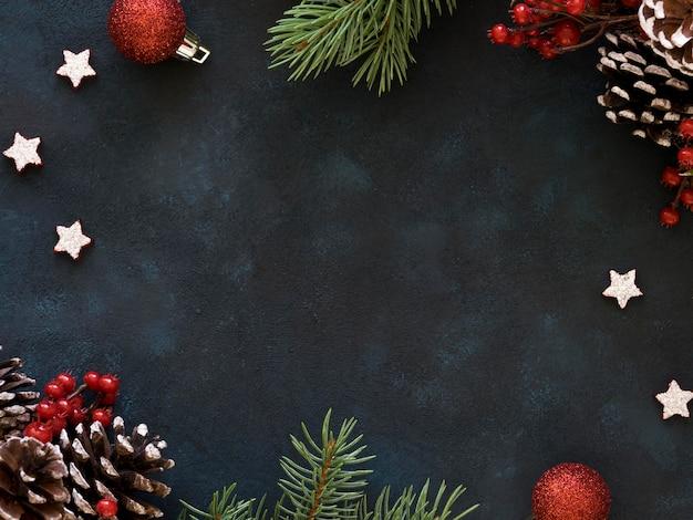 Kerstavond concept met kopie ruimte