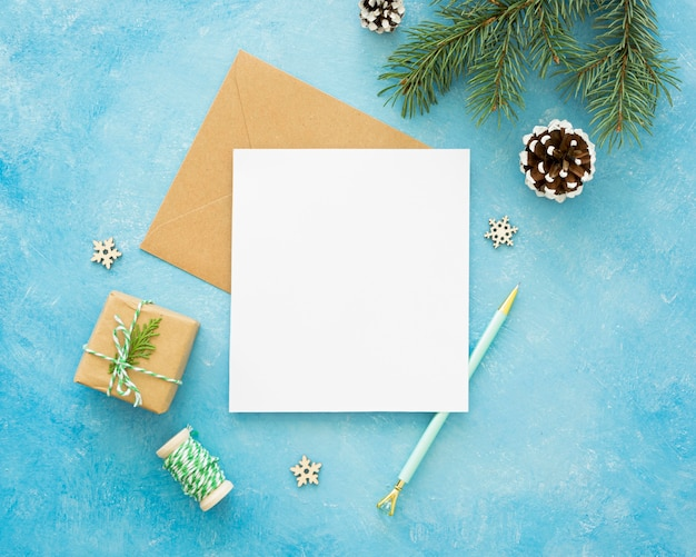 Kerstavond elementen met kopie ruimte