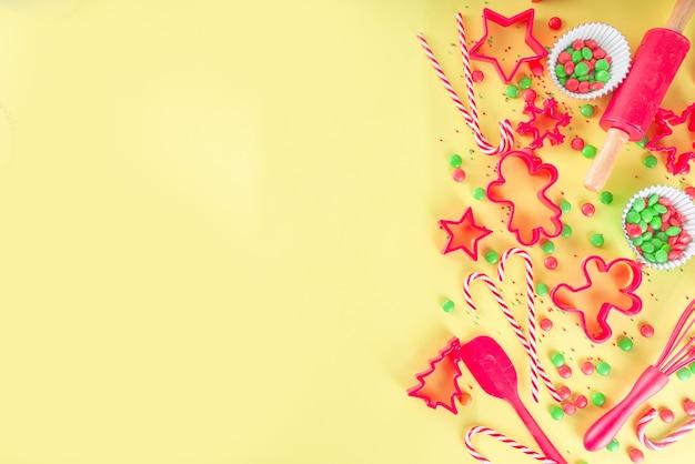 Kerstbakgerei voor banketbakker of bakker