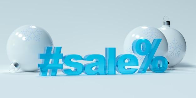 Kerstballen en verkoop