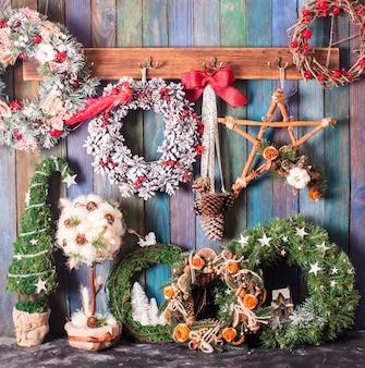 Kerstbeurs, grote keuze aan handgemaakte gezellige decoraties