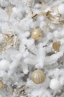 Kerstboom close-up versieren