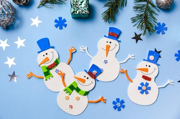 Kerstboom hangende ornamenten.