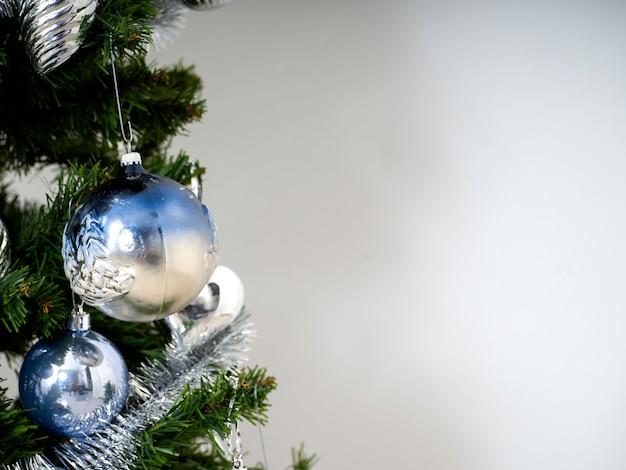 Kerstboom kamer achtergrond