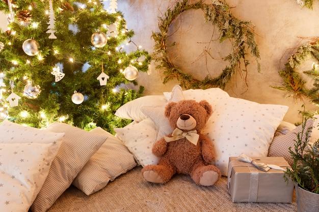 Kerstboom met cadeautjes