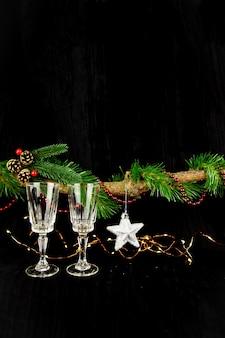 Kerstboom, nieuwjaarsversieringen