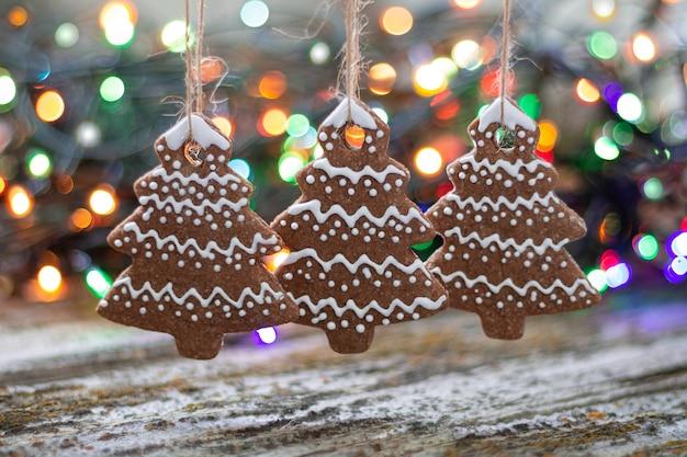 Kerstboom peperkoek