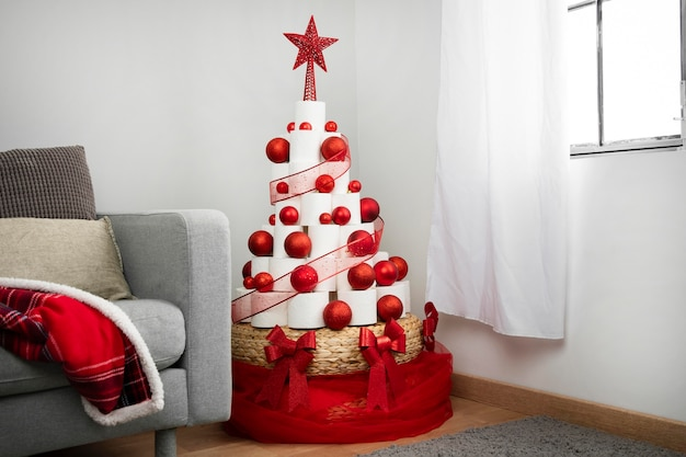 Kerstboom wc-papier