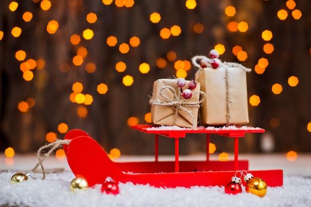 Kerstcadeaus decoraties