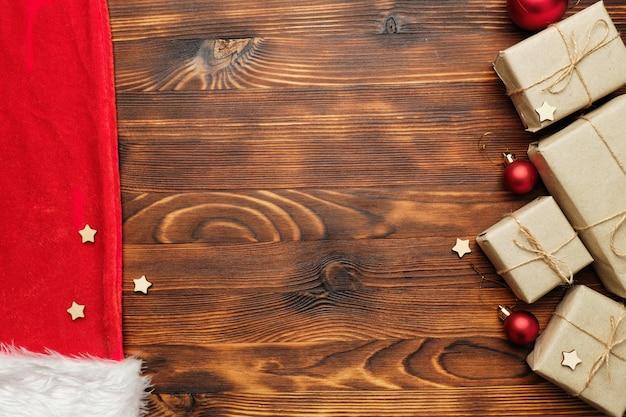 Kerstcadeaus en decoraties