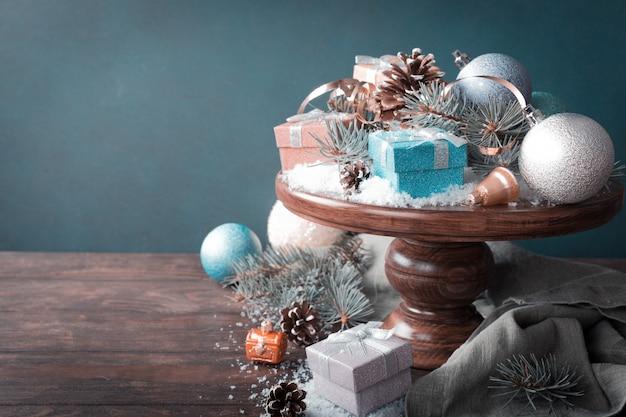 Kerstcadeautjes en decoratie