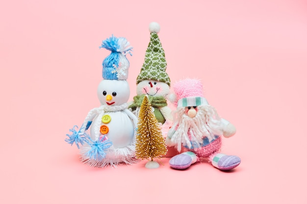 Kerstdecoratie, copyspace