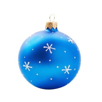 Kerstdecoratie geïsoleerd op een witte achtergrond