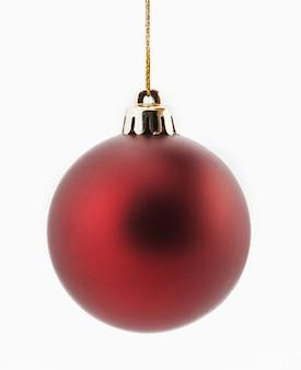 Kerstdecoratie geïsoleerd