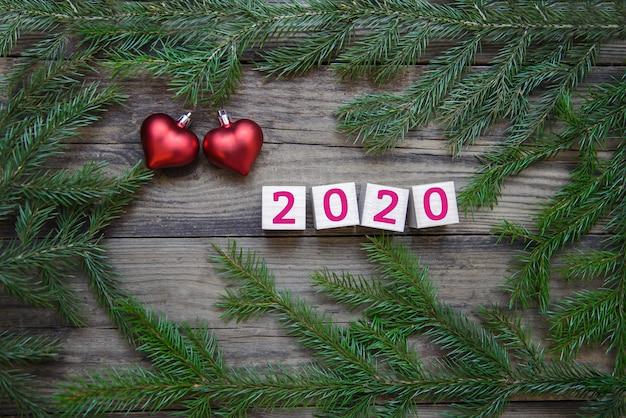 Kerstfoto voor 2020 nieuwjaar